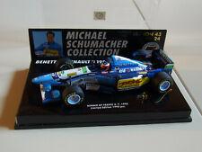 M. Schumacher 1/43 Minichamps 854318 F1 Benetton Renault B195/2 GP France 1995