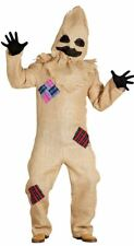 Mens Bogeyman Voodoo Black Magic Halloween Fancy Dress Costume Outfit (Large)
