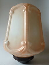 Glass Shade for Ceiling Light or Standard Lamp 1930s Art Deco Era Antique Style