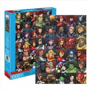 Marvel Heroes Collage 1000 Piece Puzzle