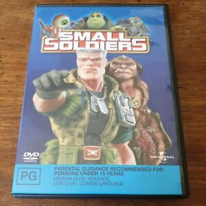 Small Soldiers DVD R4 VERY GOOD - FREE POST