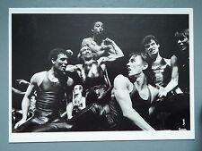R&L Modern Postcard: Armand Borland, Grease Musical, Le Paradis Latin 1980