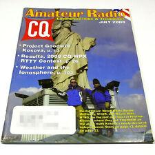 CQ MAGAZINE July 2008 HAM/AMATEUR RADIO bhi Radio Mate/Mini FM Transmitter/APRS