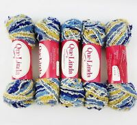 5 Que Linda Berroco Ireland Wool Yarn Looped Skeins Que Knitting 95%