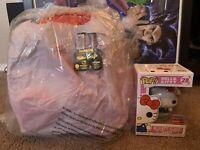 Hello Kitty 2020 Bundle NYCC LE 1000 Funko Pop Diamond Collection Loungefly Bag
