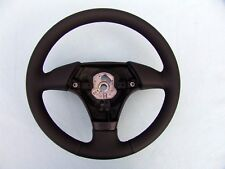 BMW EURO SPORTS STEERING WHEEL, E36, M3, NEW MONTANA LEATHER, BLACK STITCHING