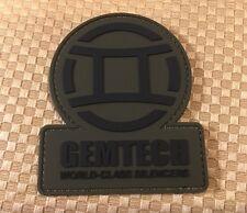 GEMTECH SILENCERS PVC PATCH Tactical Rifle GUN & BONUS FLAG STICKER!