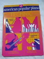American Popular Piano Technic 2 (American Popular Piano Series) by Christopher