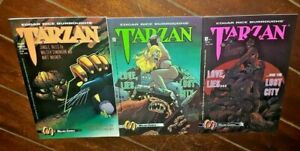 Tarzan: Love, Lies and the Lost City #1 thru #3, (1992, Malibu Comics)