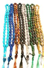 Islamic Tasbeeh 33 Bead Various Colours Prayer Bead Tasbih Tasbeeh Islam Misbaha