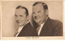 Laurel & Hardy Actor Cinema Film Very Early Postcard Rare