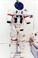 NASA APOLLO 13 JIM LOVELL SPACE SUIT 12x18 SILVER HALIDE PHOTO PRINT