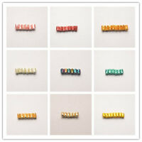 20Pcs Charm Acrylic Beads Loose Spacer Bead DIY Jewelry Findings 5.5x8mm 11Color