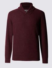Wool Collared Regular Length Jumpers & Cardigans for Men