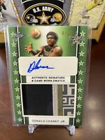 2020 Donald Chaney Jr. Leaf All American Patch Auto #4/25 Miami