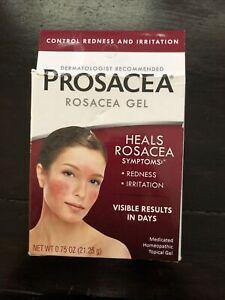 NIB Prosacea Medicated Rosacea Heals Redness Irritation Gel Exp. 03/23