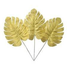 20pcs Simulation Leaf Hawaiian Party Decoration Tropical Palm Leaves Artificial
