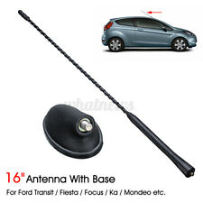 AM/FM Roof Antenna Aerial Rod + Base For Ford Focus Fiesta Mondeo Transit MK7 UK