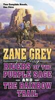Riders of the Purple Sage and the Rainbow Trail by Grey, Zane | Mass Market Pape