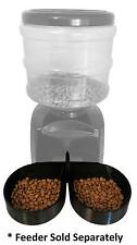 Two-Bowl Attachment for 5.5L Automatic Feeder - Pyrus/ICOCO/Fitiger/OUTAD & More