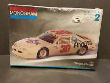 Sealed Monogram 1991 Michael Waltrip #30 Pennzoil Pontiac 1:24 Model Kit