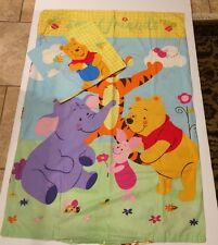 Disney Baby Winnie the Pooh Comforter Cover & Pillow Sham Crib Toddler Bed