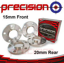 Staggered Fitment Hubcentric Wheel Spacers 15mm/20mm for BMW 5 Series