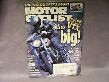Unofficial World-Endurance Ice-Racing June 2001 Motor Cyclist in Western Canada