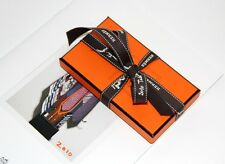 HERMES Authentic Knotting Cards No 6 LATEST for Carre Twilly SEALED Ribbon NEW!
