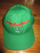 BUDWEISER - KING OF BEERS Shamrock (Adjustable Snap Back) Cap ST. PATRICK'S DAY