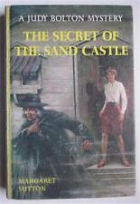 JUDY BOLTON #38 SECRET OF SAND CASTLE MARGARET SUTTON 1967 G&D HB 1ST ED DJ