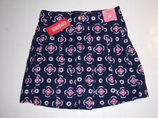 NWT Gymboree Smart Girls Rule Flower Skirt Skort 12