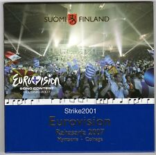 Euro FINLANDIA 2007 Eurovision in Folder Ufficiale