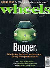 Wheels Mar 00 VW Beetle MR-S Boxster S Audi S4 Mondeo ST24 406 ST HDi Matiz