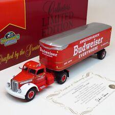 Matchbox Collectibles - 1948 Budweiser Diamond T Tractor Trailer - DYM38233