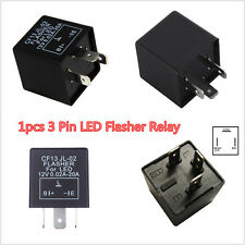 1p 3 Pin Car LED Flasher Relay Fix Turn Signal Hyper Fast Blink Flash CF13 JL-02