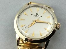 Men's Vintage Universal Geneve Watch Automatic Bumper Movement 14K Gold Filled