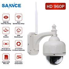 SANNCE 5xzoom Wireless HD 960p PTZ Camera Email Alert Push H.264 Video Compress