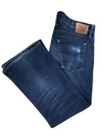 Agave Men's Relaxed Straight Dark Wash Jeans Made In USA Size 36x27.5