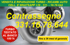 TURBINA REVISIONATA BMW 525D E60 E61 177CV