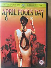 Amy Steel Deborah Foreman APRIL FOOL'S DAY ~ Original 1986 Slasher Horror UK DVD