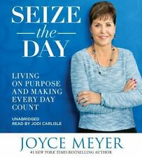 SEIZE the DAY by Joyce Meyer NEW Unabridged 6 CDs (2016)