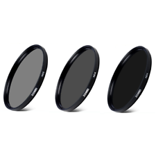 Zomei ND Neutral Density Filters ND2 + ND4 + ND8 49/52/55/58/62/67/72/77/82/86mm