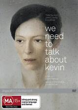We Need to Talk About Kevin NEW DVD (Region 4 Australia) Tilda Swinton Ezra Mill