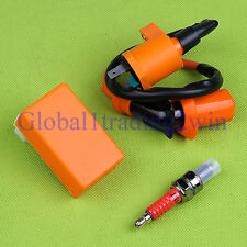 GY6 50-150cc Racing 6 pins AC CDI box + Ignition Coil Moped Scooter ATV Go Carts