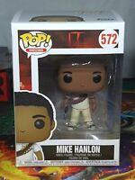 IT Mike Hanlon Pop Movie's #572 Vinyl Figure Funko Aus Seller 2016