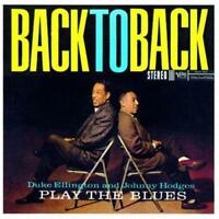 Duke Ellington Johnny Hodges - Play The Blues Back To Back (NEW CD)