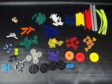K 'nex 20 modelo conjunto de construcción de engranajes con instrucciones y estuche de plástico,