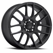 18 inch GFX G20 matte black wheels Ford Mustang Fusion Taurus Escape 18x8 5x4.5