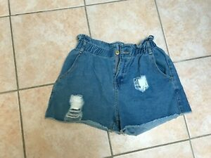 Blue Denim Shorts In The Style BNWOT